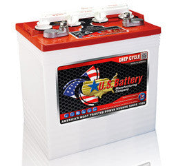 US Battery 8 Volt 170 Amp Hour Conventional Wet Cell Golf Cart Battery Part No US8VGCXC2