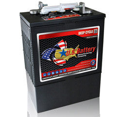US Battery 6 Volt 385 Amp Hour Conventional Wet Cell Renewable & Solar Battery Part No USL16-XC