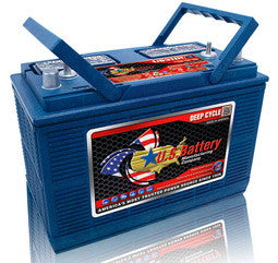 US Battery 12 Volt 130 Amp Hour Conventional Wet Cell Boat & RV Battery Part No US31DCXC