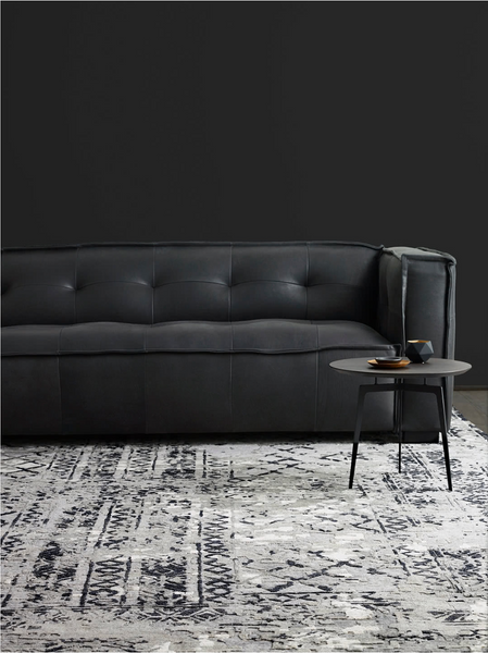 SIMON LEATHER SOFA