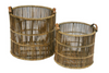 Watercane Round Baskets Set of 2
