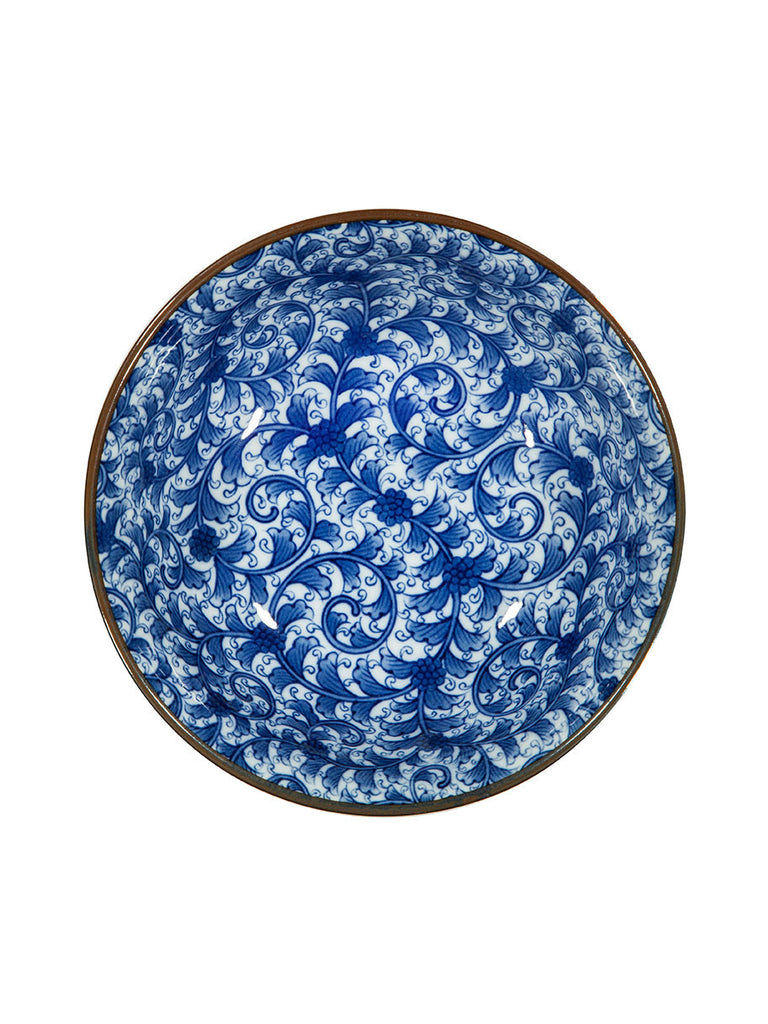 Japanese Patterned Large Noodle Bowl (various styles) - Hamptons House - 2