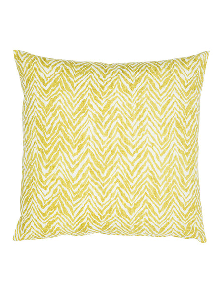 Green & White Zebra Print Cushion (Various Sizes)