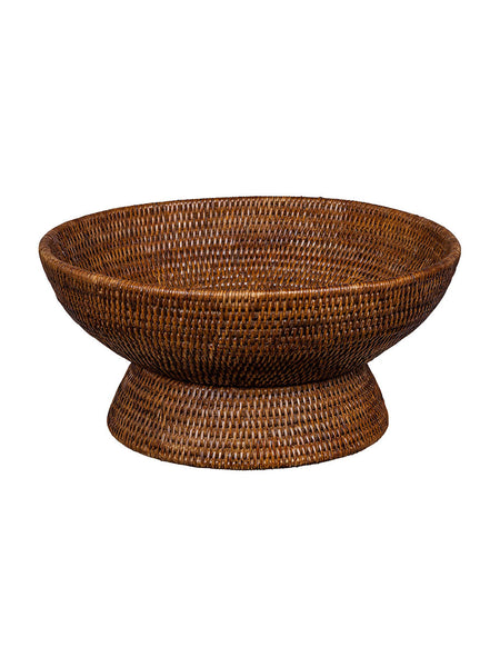 Rattan Fruit Bowl - Hamptons House - 1