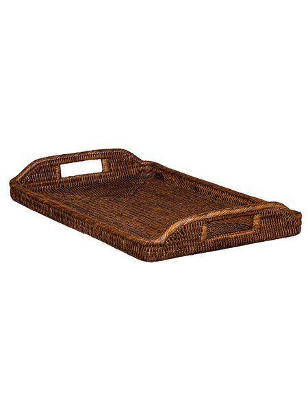 Rattan Breakfast Tray - Hamptons House - 1