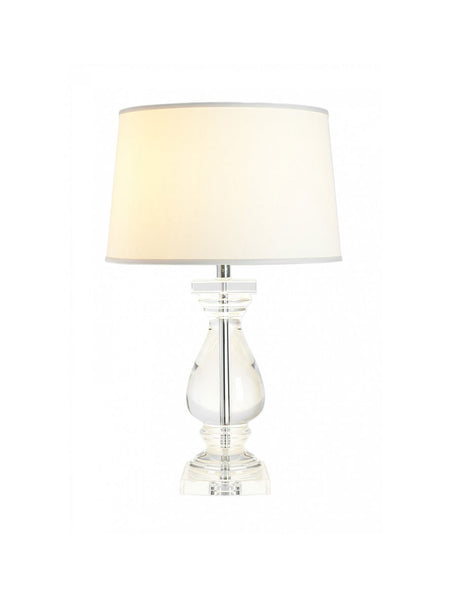 Crystal Balustrade Table Lamp - Hamptons House