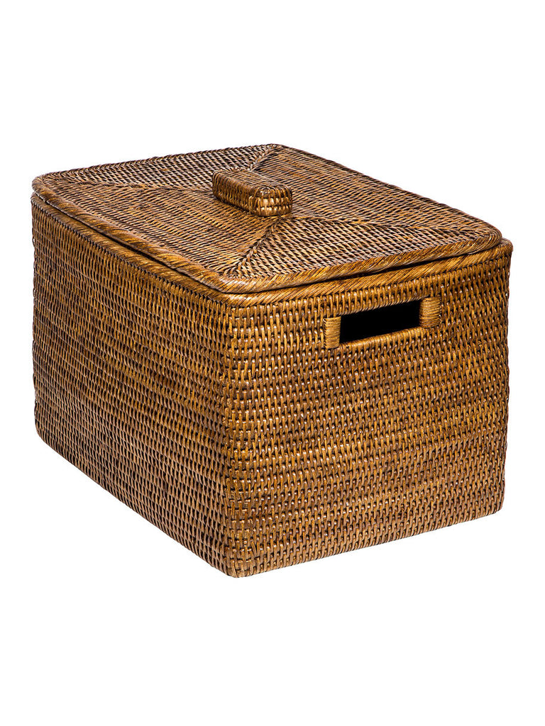 Rattan Basket with Lid