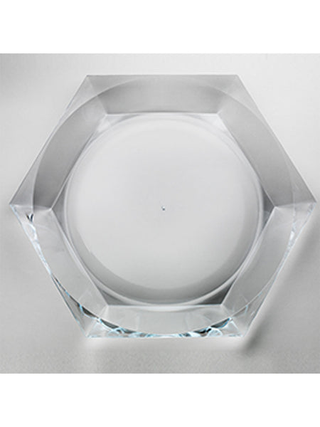 Synthetic Crystal 'Camilla' Platter - Hamptons House - 1