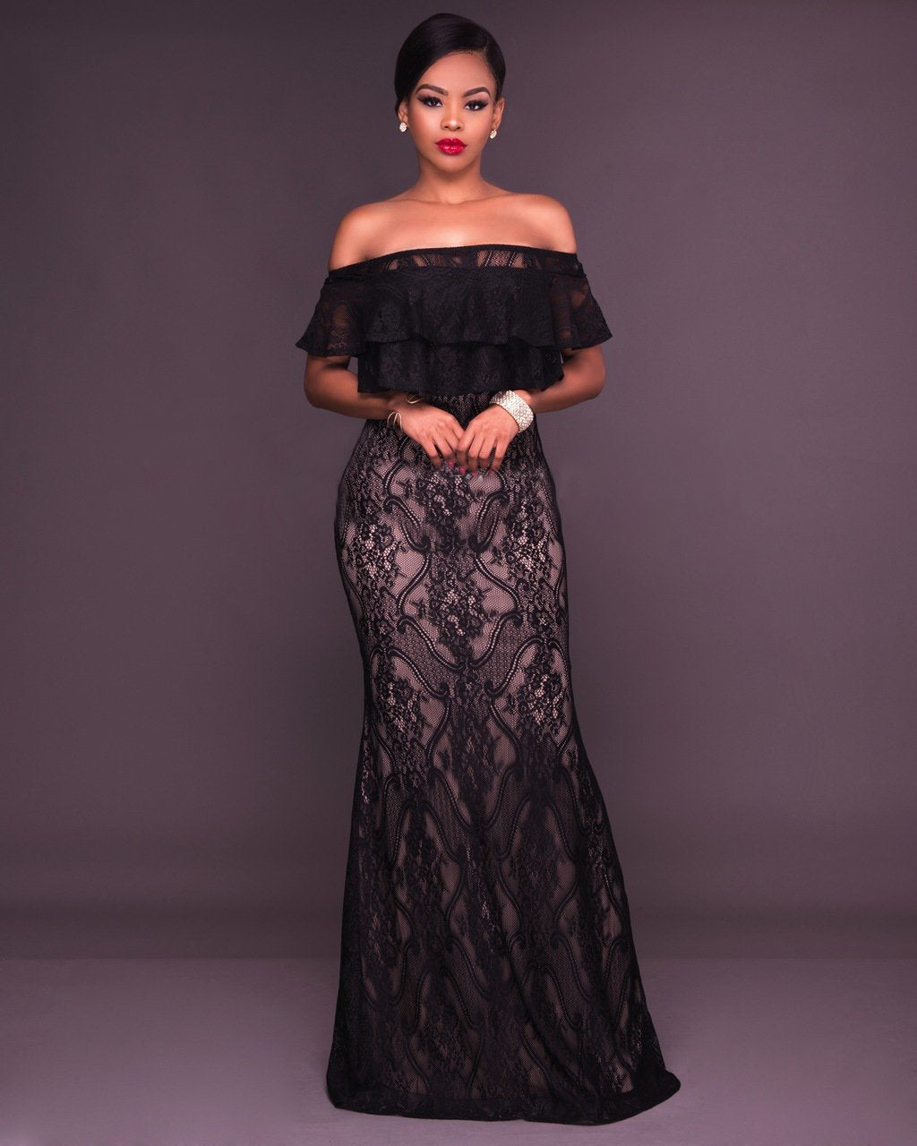Black Lace Evening Gown from Sophisticlad, Melbourne, Australia ...