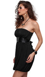 #12173 - Black Strapless Bubble Dress - Available in  10/14