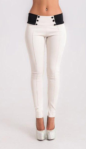 #7388 - White Pants - Available in Sizes 8/10