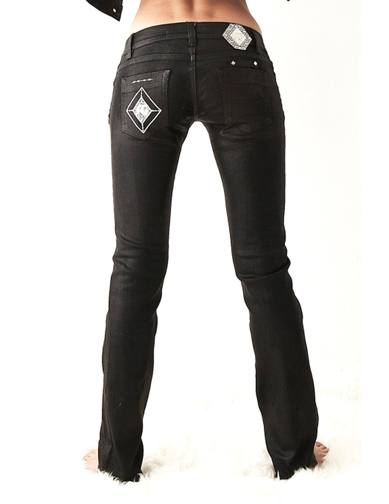 SG Liquid Metal 105 Black Denim Jean by Sergio Gutierrez