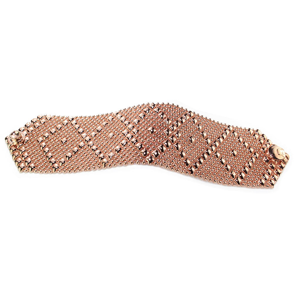 SG Liquid Metal B10 – RG Rose Gold Finish Bracelet by Sergio Gutierrez