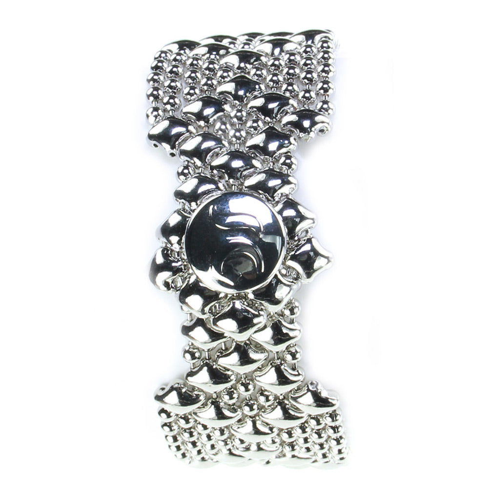 SG Liquid Metal Bracelet by Sergio Gutierrez B4-N Chrome Finish Bracelet