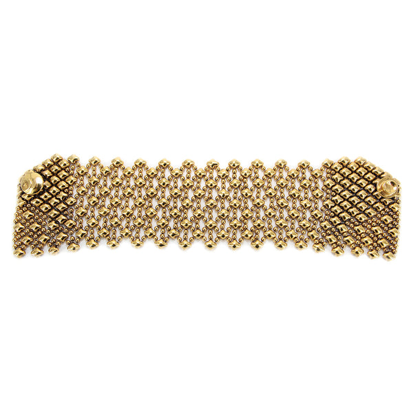 B79-AG Antique Gold 24K Bracelet