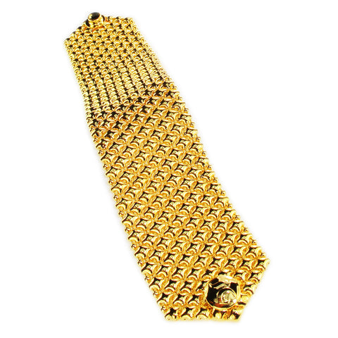 SG Liquid Metal B8 – G24K Gold 24k Finish Bracelet by Sergio Gutierrez