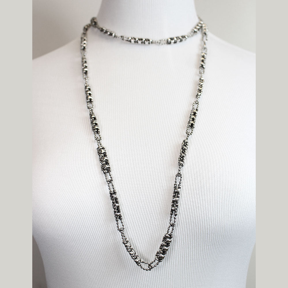 CH1-AS Antique Silver Necklace