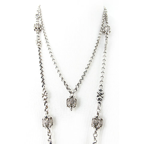 CH5-AS Antique Silver Necklace