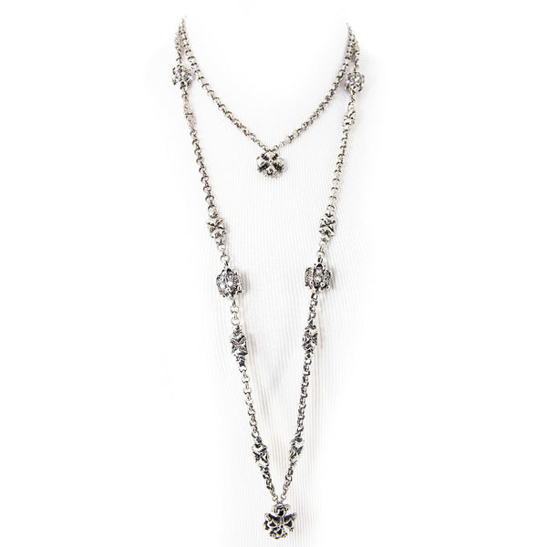 CH6-AS Antique Silver Necklace