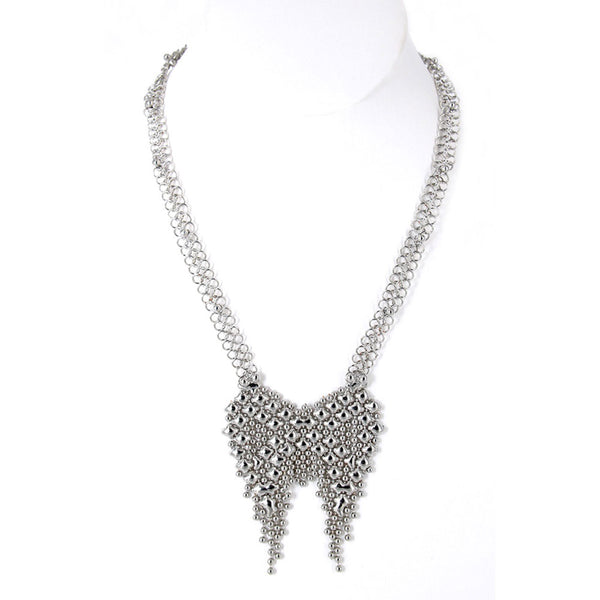 CMNECK3-N Chrome Finish Necklace