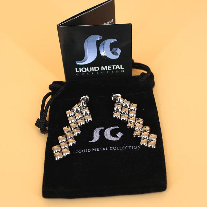 SG Liquid Metal E3 - SS (Stainless Steel Earring)