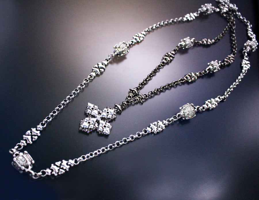 LEN 3945 – AS (antique silver finish) Necklace