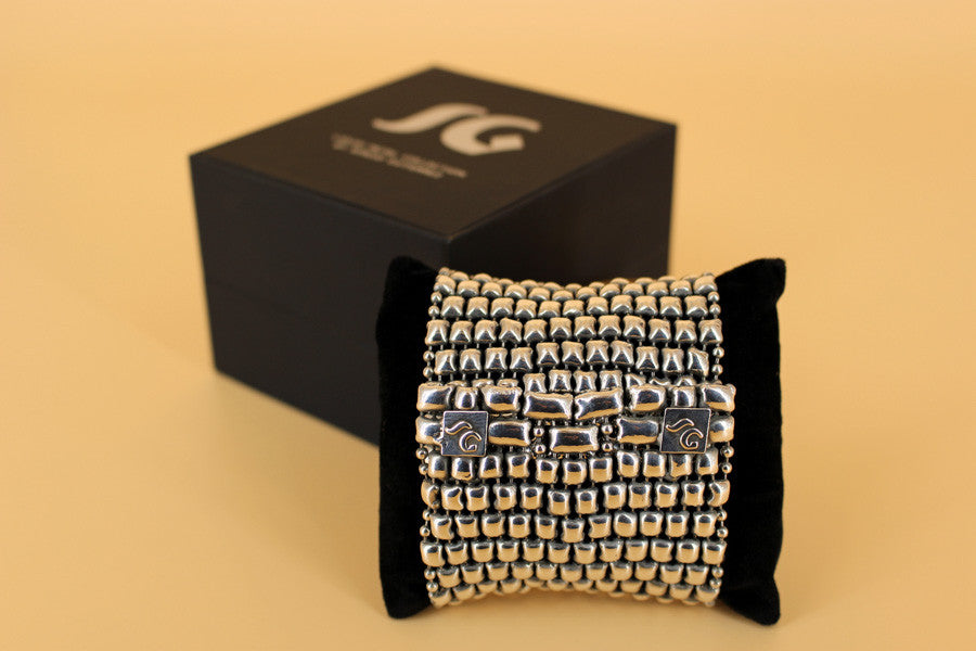 SG Liquid Metal LEB 3691 –One of a kind Bracelet by Sergio Gutierrez