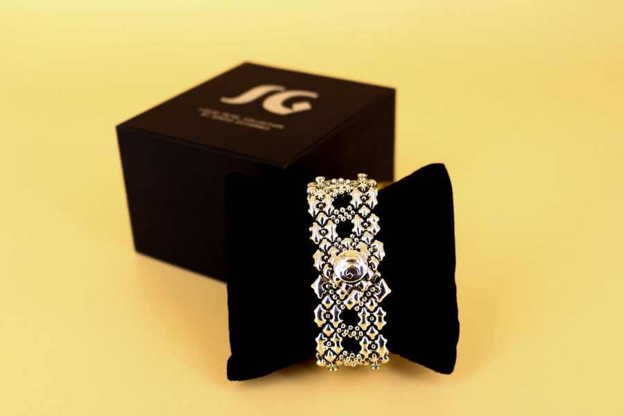 SG Liquid Metal LEB 3689 Limited Edition Bracelet by Sergio Gutierrez
