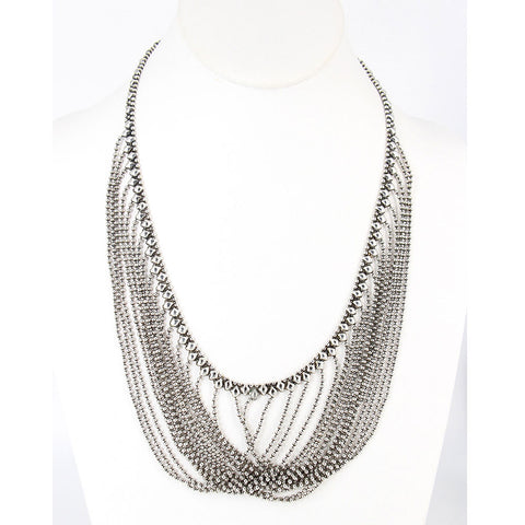 N15-AS Antique Silver Necklace