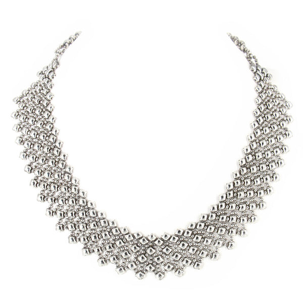N17-AS Antique Silver Necklace