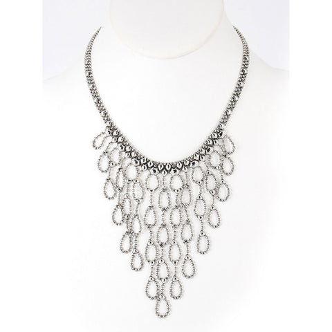 N18-AS Antique Silver Necklace