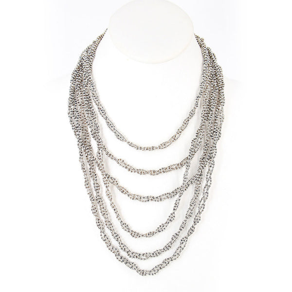 N20-AS Antique Silver Necklace