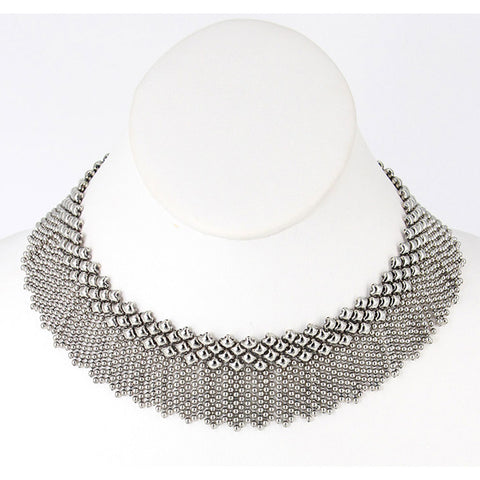 N8-AS Antique Silver Necklace