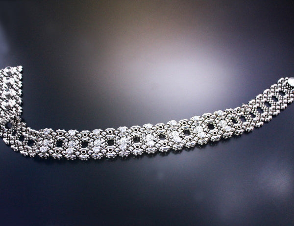 LEC 3506 – AS (antique silver finish) Choker
