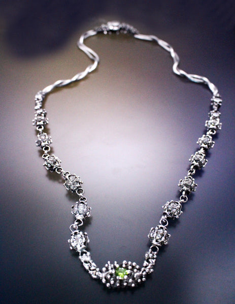 LEN 3971 – AS (antique silver finish) Necklace