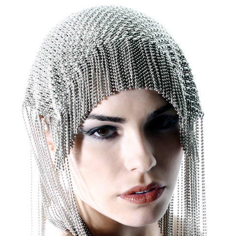 SG Liquid Metal HEADPIECE2-N (Chrome Finish) by Sergio Gutierrez