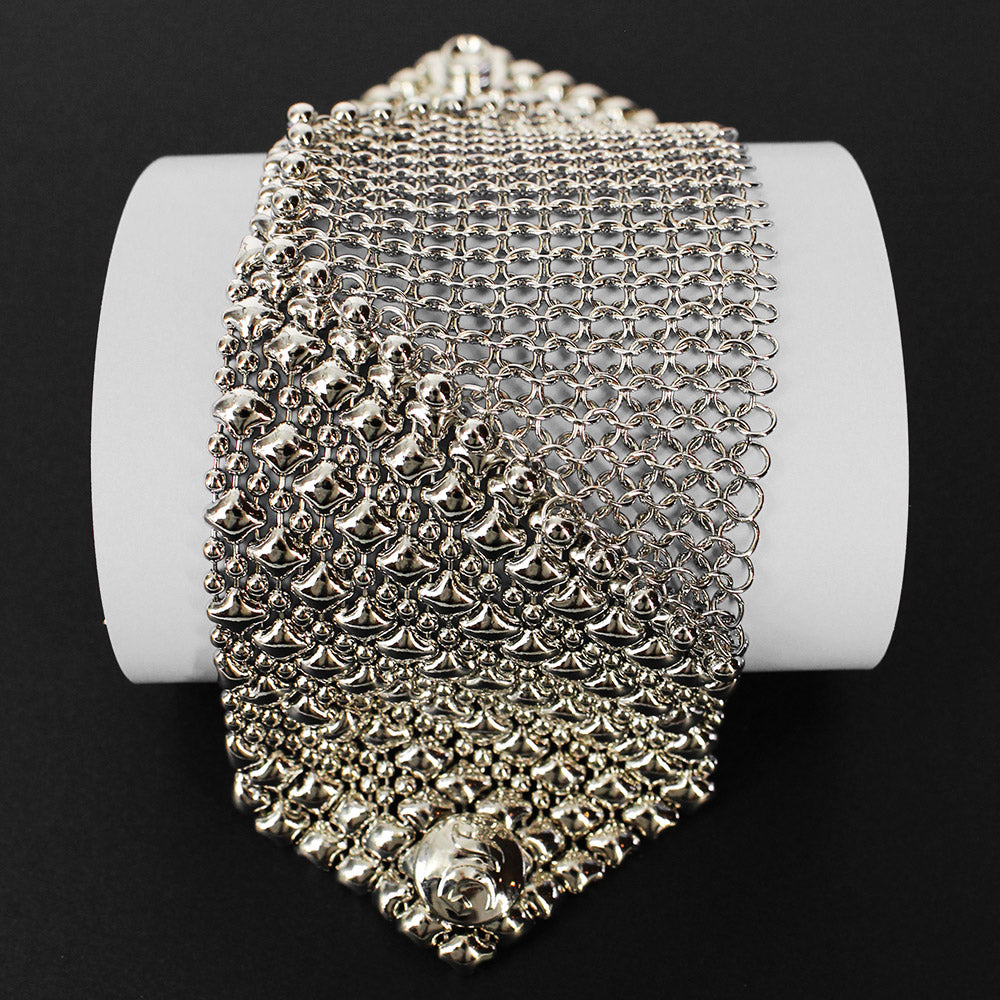 SG Liquid Metal CMB6-N (Chrome Finish) Bracelet by Sergio Gutierrez