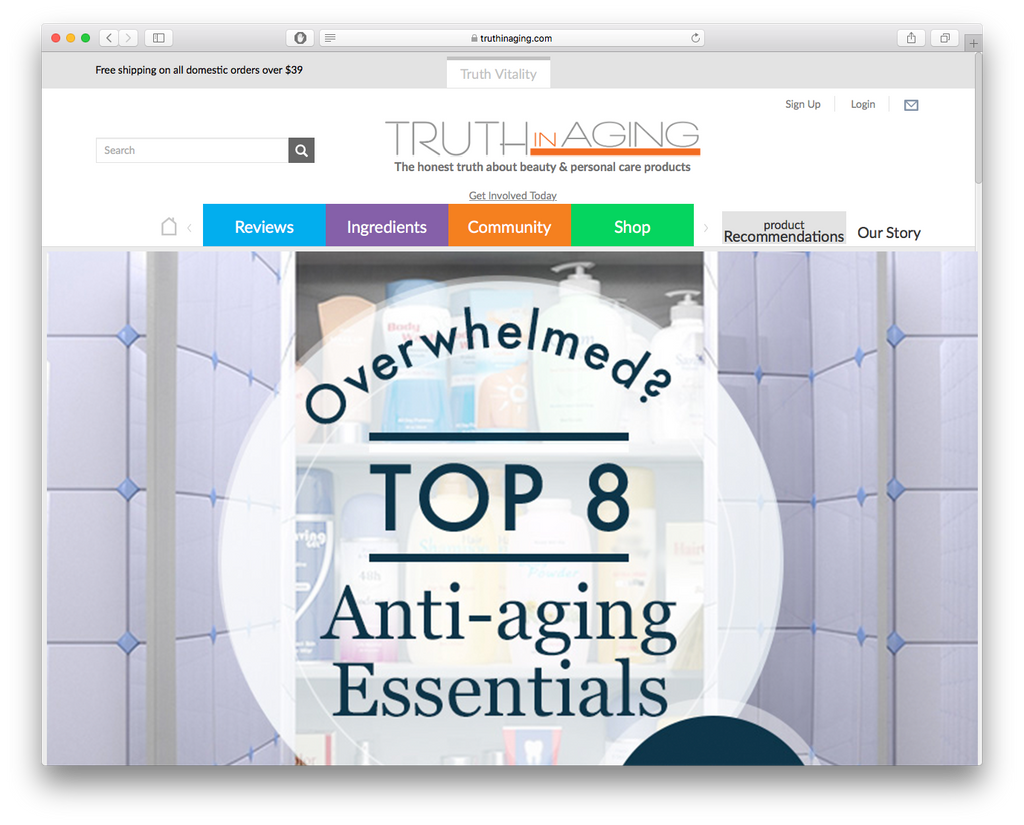 Our Top 8 Anti-Aging Essentials - Truth in Aging
