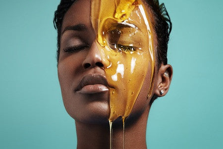 Honey treatment. Face treatment (mask)