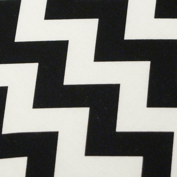 PADDED Ironing Board Cover made with Riley Blake Black and White Chevron