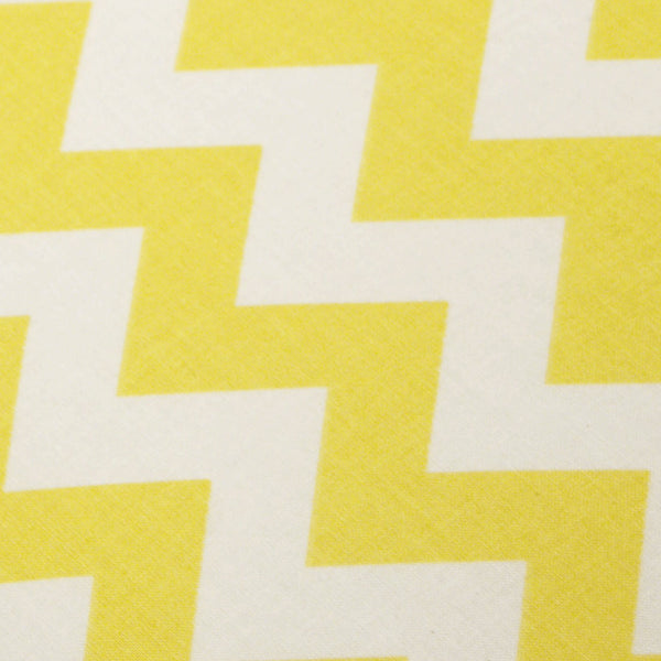 Ironing Board Cover with ELASTIC BINDING made with Riley Blake Daffodil Yellow and White Chevron