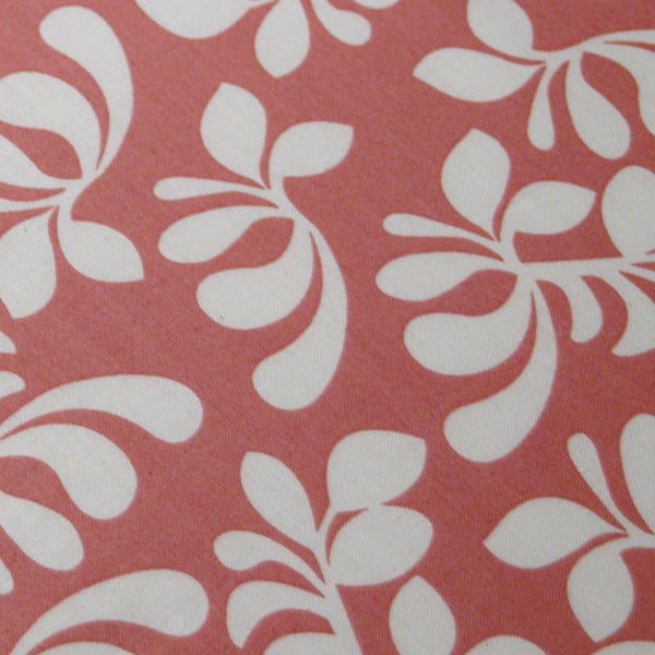 PADDED Ironing Board Cover made with Windham Fabrics Hello Gorgeous white blossoms on coral select the size