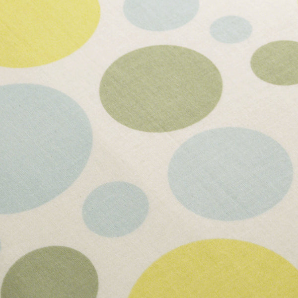 PADDED Ironing Board Cover made with Heather Bailey Nicey Jane Dream Dots blue yellow green