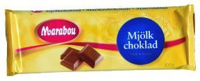 Marabou Milk Chocolate Bars 100g