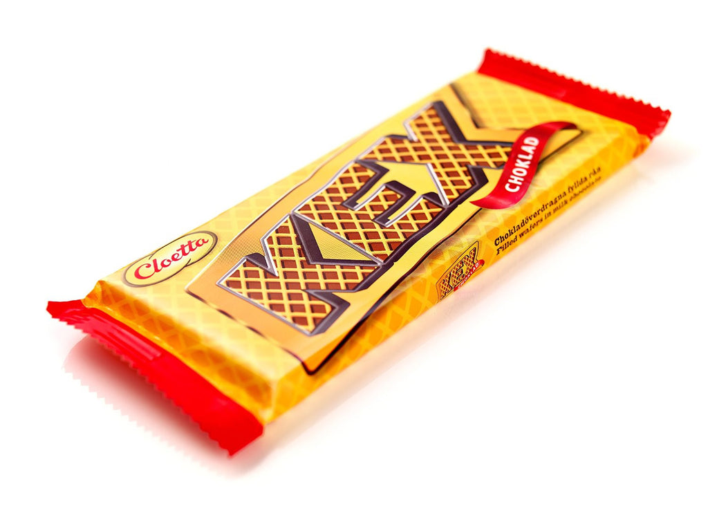 Cloetta Kex Chocolate Bars Wafers in Milk Chocolate 55g bar
