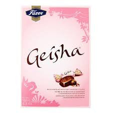 Fazer Geisha Milk Chocolate with Hazelnut Gift Box 5.3 oz