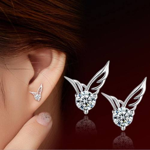 Angel Wings Crystal Earrings - Special Design Jewelry - 1