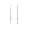 2016 Gold & Silver Long Cross Earrings - Special Design Jewelry - 2