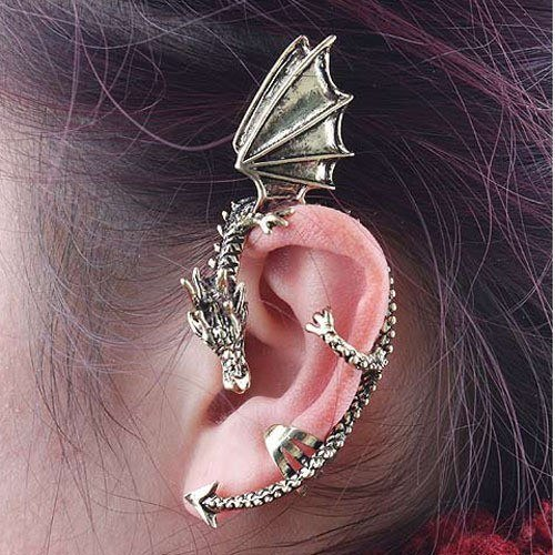 Mother of Dragons Ear Cuff - Special Design Jewelry - 1