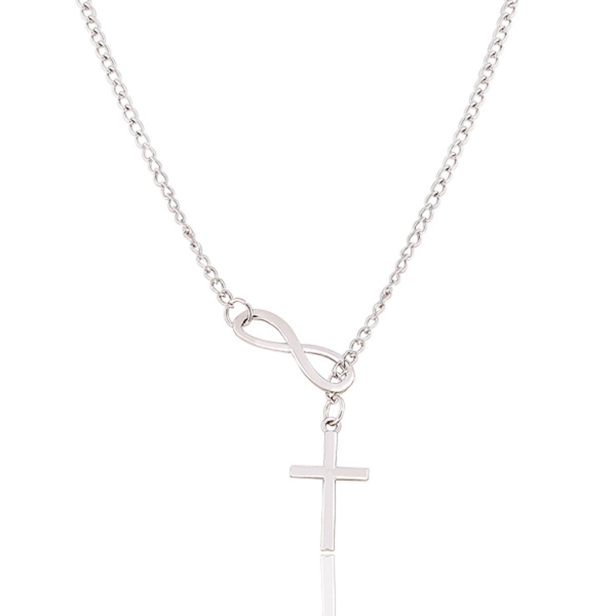 Infinite Faith Cross Necklace - Special Design Jewelry - 1